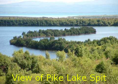 View of Pike Lake Spit